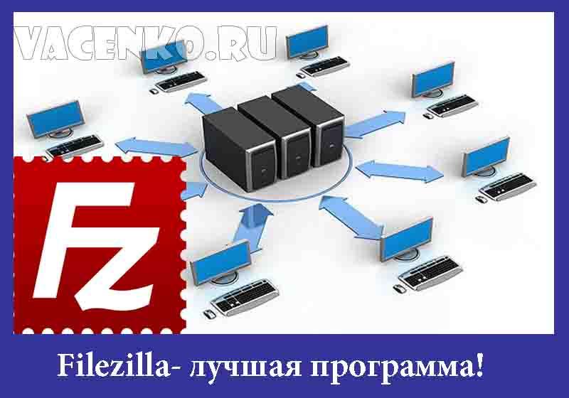 Filezilla лучшая программа