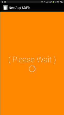 оранжевый дисплей