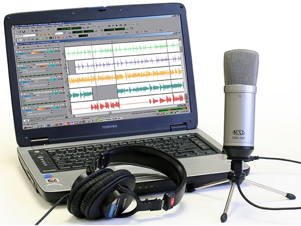 Проверка микрофона на наушниках