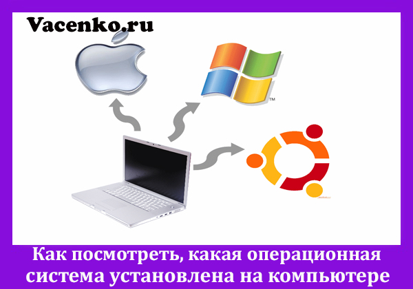 Как посмотреть, какая операционная система установлена на компьютере